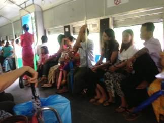 列車内の様子