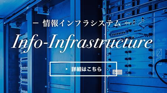 情報インフラシステムの詳細はこちら